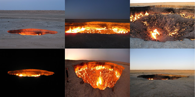 Experts Found The 'Door To Hell'- A Natural Gas Field Which Has Burning For Decades!