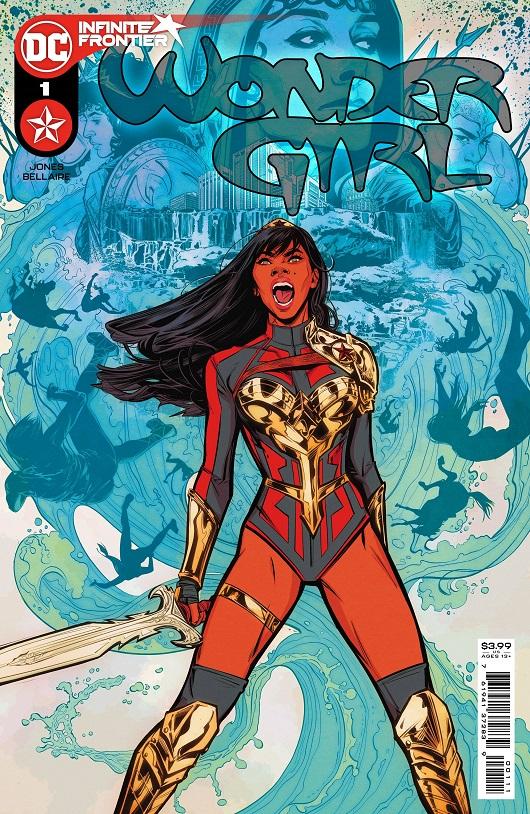 Cover of Wonder Girl #1