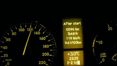 Consumo gasóleo mercedes Viano W639 V6 3.0 CDI a 120 Km/h