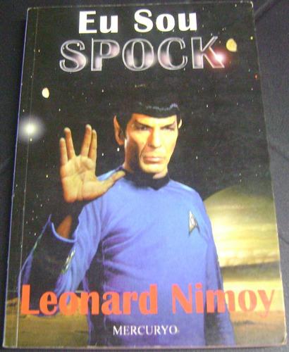 Capa do livro Eu sou Spock, escrito por Leonard Nimoy.