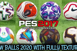 New Ballpack 2019-2020 Fully Textured - PES 2017