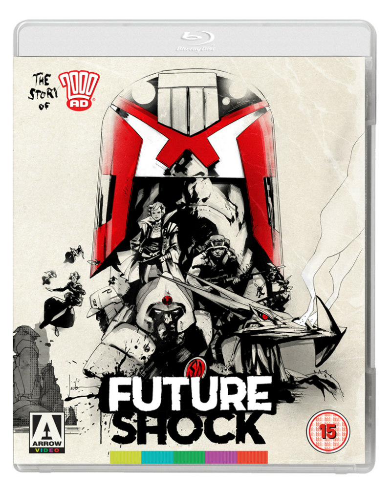 future shock 2000ad arrow bluray