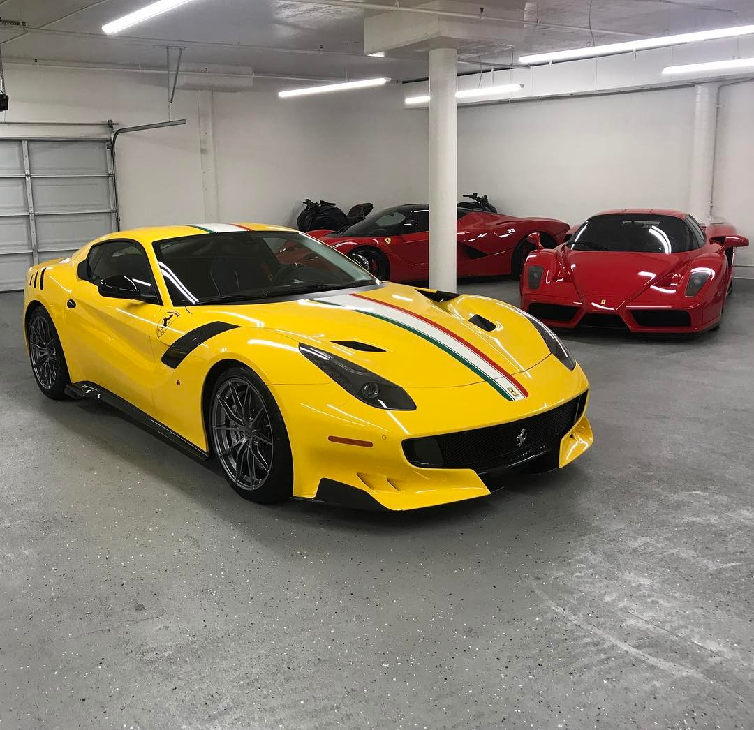 This Collector Ordered A Ferrari F12 Tdf To Match His 64