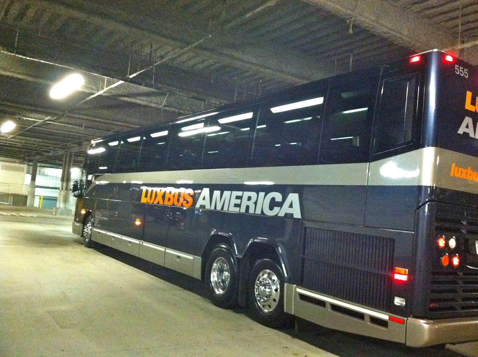 Lux Bus America - Anaheim to Las Vegas in Style - The World