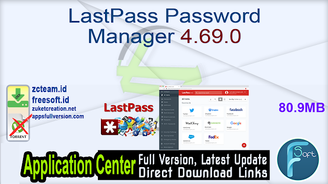 LastPass Password Manager 4.69.0