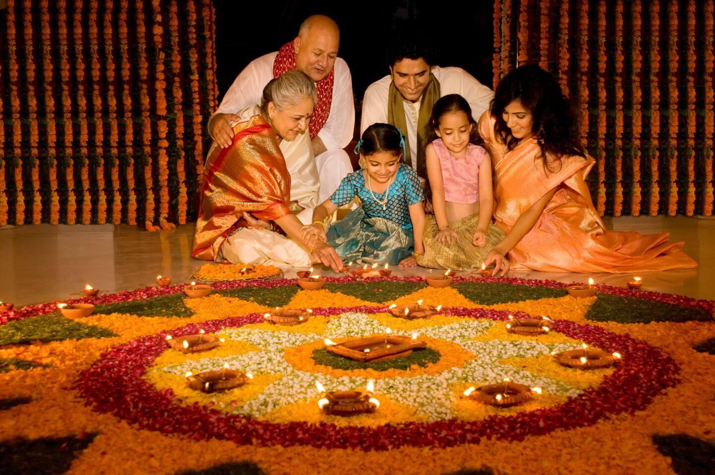 Diwali Celebration with Family-uptodatedaily