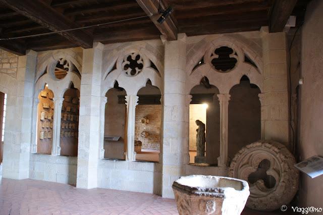 Altra sala interna del Castello di Carcassonne