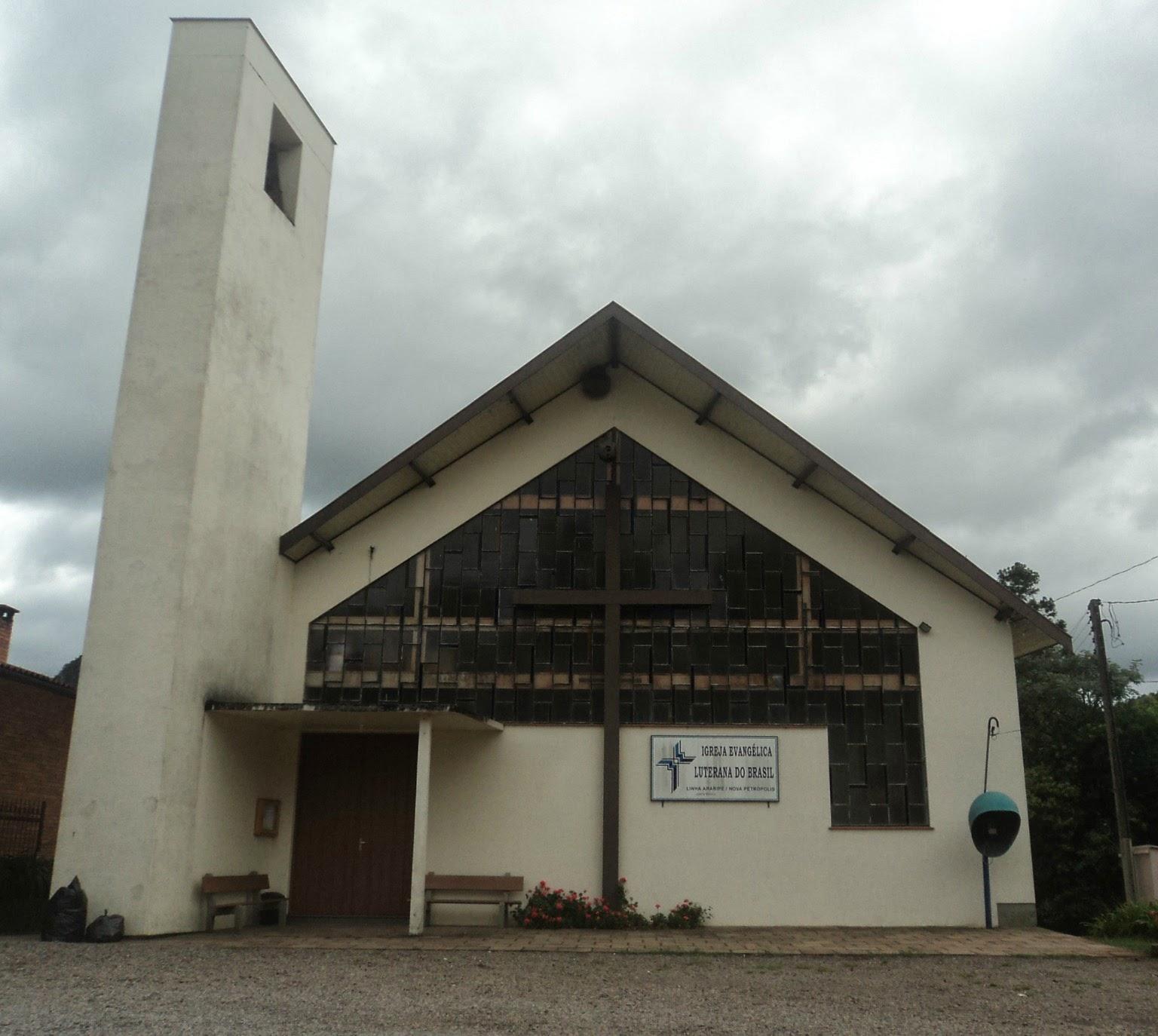 Igreja da Confissão Luterana Próxima à Hospedaria Varsóvia, em Gramado (RS)