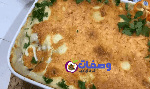 طاجن الفراخ بالبشاميل فاطمه ابو حاتي