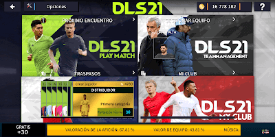 Download Dream League Soccer 2021 DLS 21 Mod Apk Obb