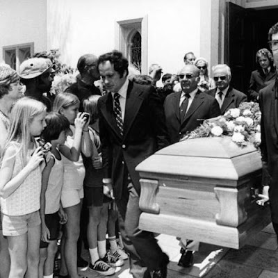 Betty Grable Funeral