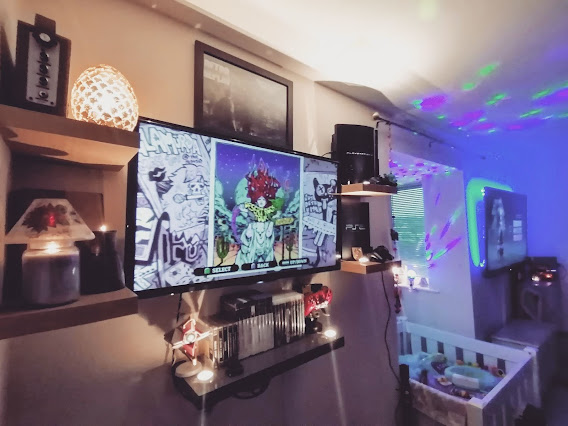 gaming setup, duel gaming, gaming, duel setup, games, gaming household, two TVs