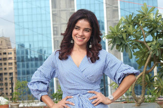 Pia Bajpai in Lovely Small Shorts and Deep neck Top