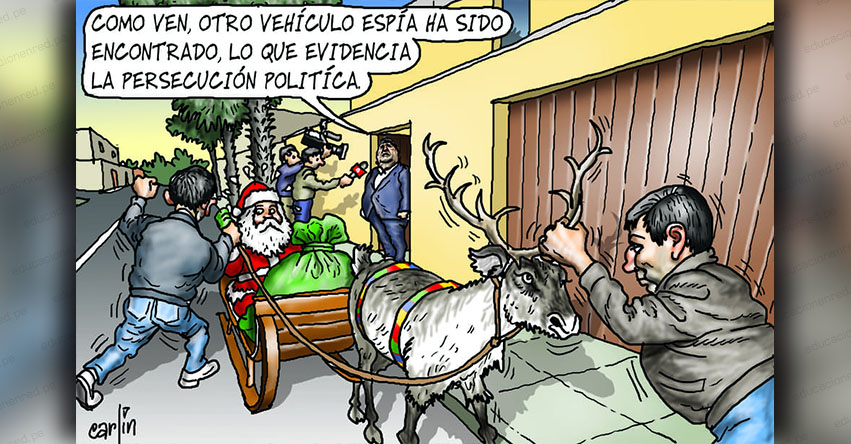 Carlincaturas Lunes 24 Diciembre 2018 - La República