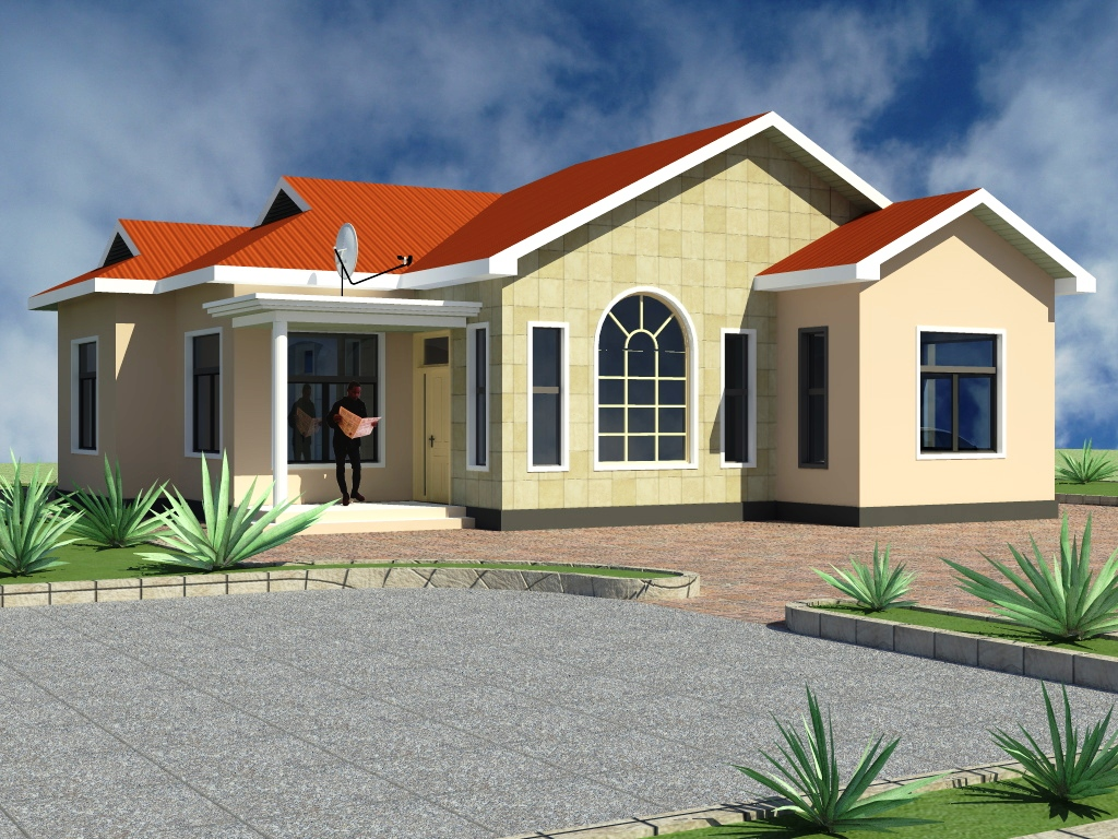 Nyumba ya vyumba vitatu home plan tz for House designs za