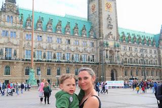 Rathaus Hamburgo