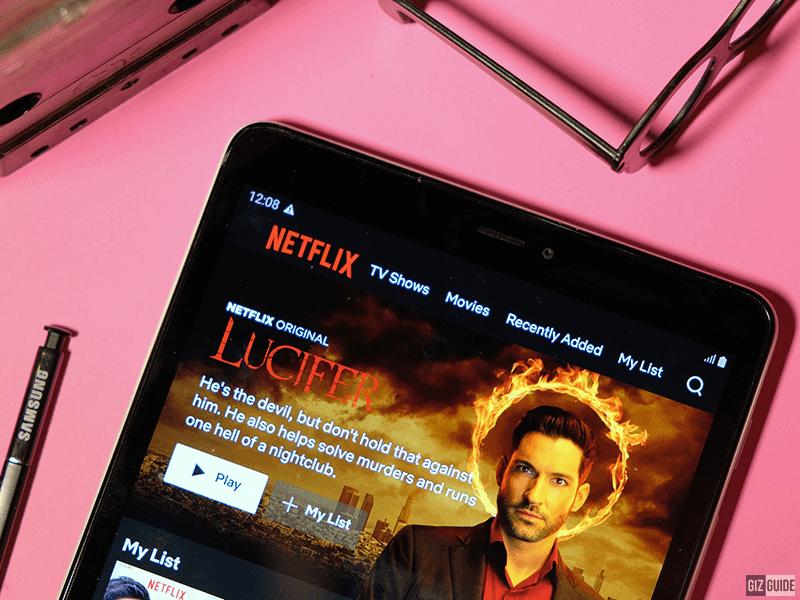 Netflix looks good in that display