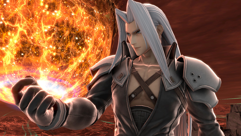 SUPER SMASH BROS. ULTIMATE SUMMONS SEPHIROTH AS ITS LATEST DLC FIGHTER ON DEC. 22
