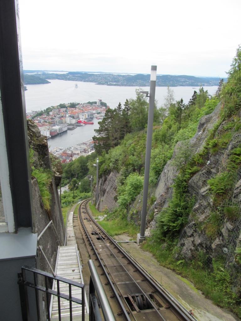 mount fløyen railway