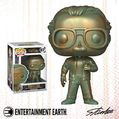 Stan Lee Patina Edition Pop! Icons Vinyl Figure by Funko