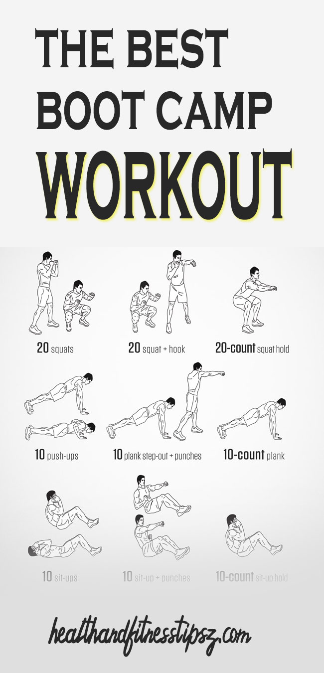 30 MINS BOOT CAMP WORKOUTS