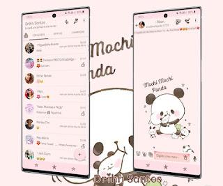 Baby Panda Theme For YOWhatsApp & Fouad WhatsApp By Driih Santos