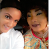 Big Brother Naija star Gifty Powers pictured on movie set with Eucharia Anunobi and Ngozi Ezeonu