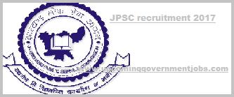 jpsc recruitment 2017-2018