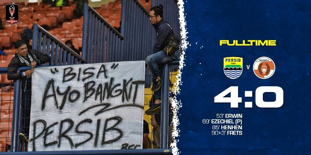 Persib Bandung vs Perseru Serui 4-0 Highlights Piala Presiden 2019