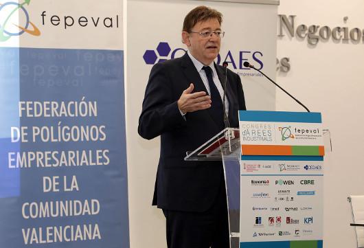 Puig anuncia un programa piloto para potenciar la movilidad sostenible en zonas industriales del área metropolitana de València