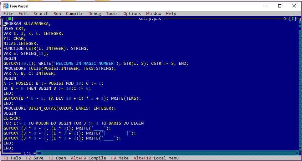 Codingmaniak.blogspot.com%2Bcontoh%2Bprogram%2Bpascal%2BSulap%2BAngka - Contoh Aktivitas Pascal Permainan Sulap Angka