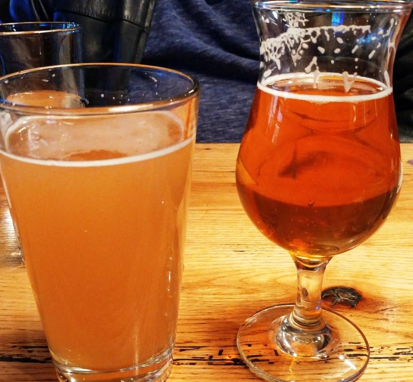 plenty of beer on tap at City Tap House Nashville #ad
