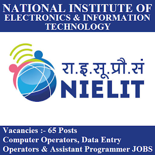 National Institute of Electronics and Information Technology, NIELIT, Uttar Pradesh, UP, DEO, Data Entry Operator, Computer Operator, 12th, freejobalert, Sarkari Naukri, Latest Jobs, nielit logo
