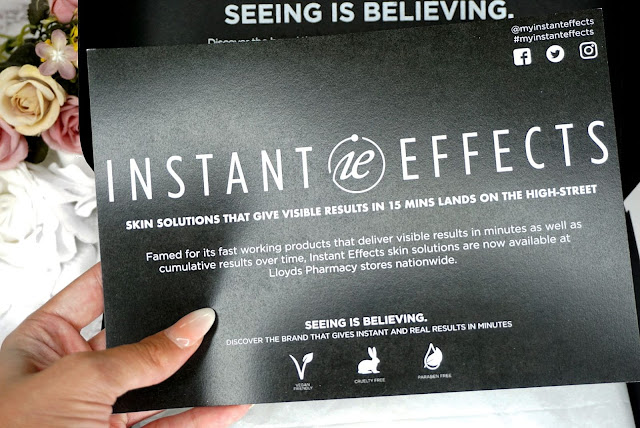 MY INSTANT EFFECTS - IMMEDIATE EFFECTS ON SKIN, LIPS , LASHES AND EYEBROWS