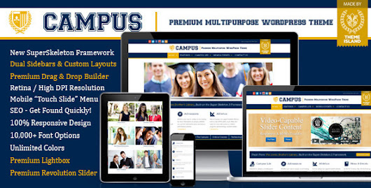 Campus v3.1.2.2 Premium Multipurpose WordPress Theme Free Download ~ New Age Bloggers
