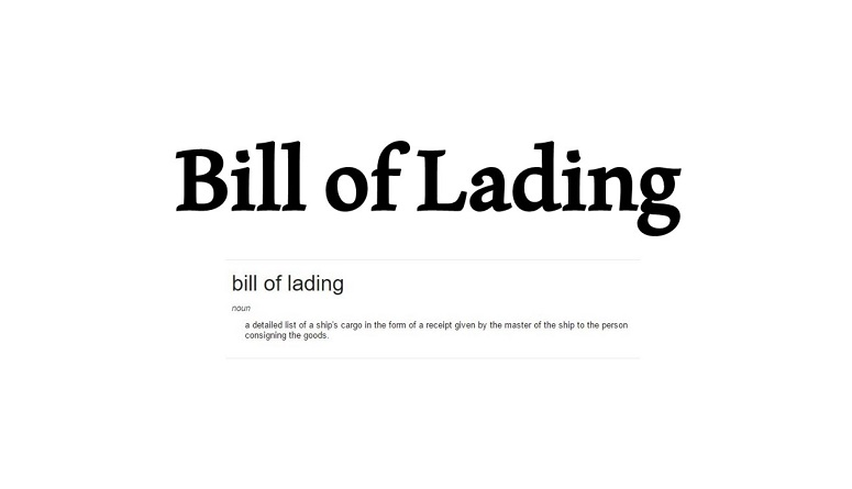 the bill of lading a fundamental Bill of lading (abbreviated to b/l) is one of the most important documents in the whole shipping and freight chain it comes in various types and forms and is one of the most commonly used documents in the shipping and freight chain but also the most misunderstood and misused of documents .
