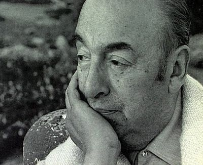 Rostro de Pablo Neruda