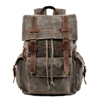 Lukecase canvas backpacks