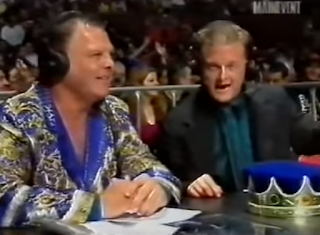 WWA The Inception 2001 - Jerry 'The King'  Lawler and Jeremy Borash called the event
