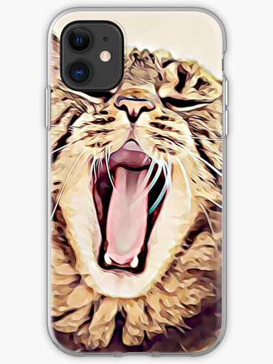 iPhone cat-themed case