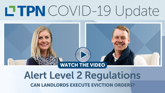 Alert Level 2 - Can landlords execute eviction orders?