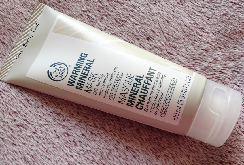 The Body Shop Warming Mineral Mask Review Buy Online