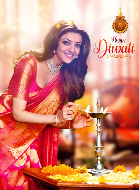 Kajal agarwal Latest photos on Diwali