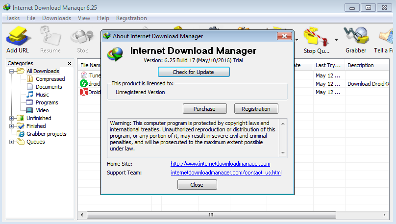 serial number internet download manager 6.25 build 14