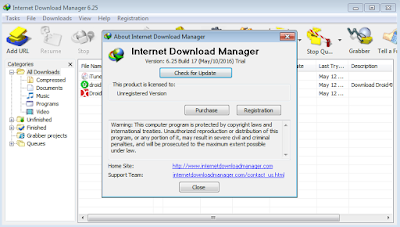 Download Internet Download Manager 6.25 build 17 : Best Internet Download Manager