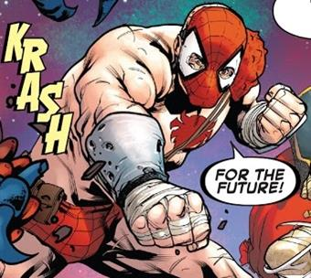 Versión distópica de Spiderman