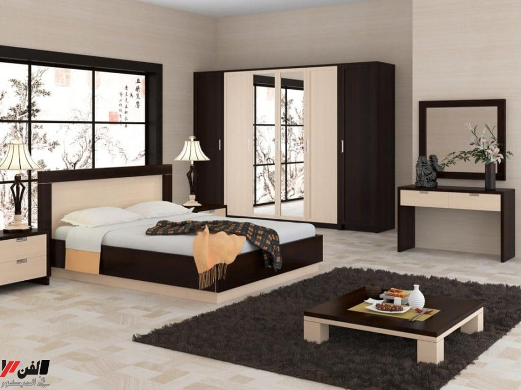 ديكورات غرف نوم للعرسان رومنسيه وافكار تزيين الغرفة