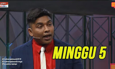 Tonton Maharaja Lawak Mega 2019 Minggu 5 Full MLM