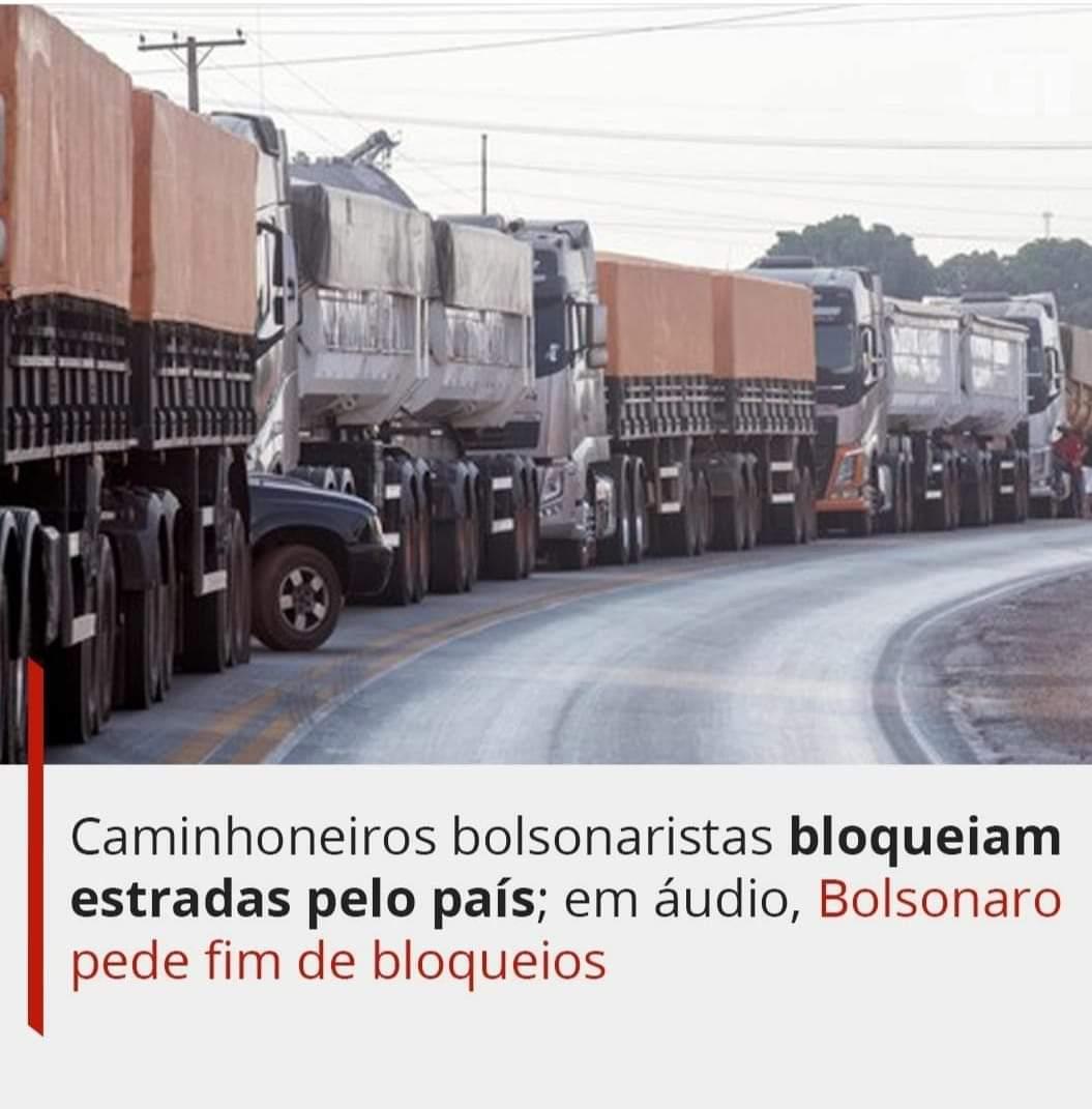 Caminhoneiros já bloqueiam estradas em 14 estados, diz Infraestrutura