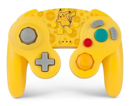 PowerA Pikachu GameCube Style Controller for Switch